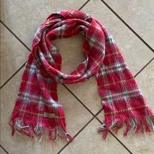 "Burberry Wool Cashmere Blend Knit 8"" x 70"""